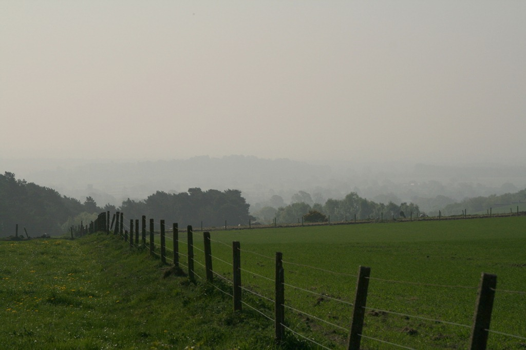 Misty view from near Rawhead