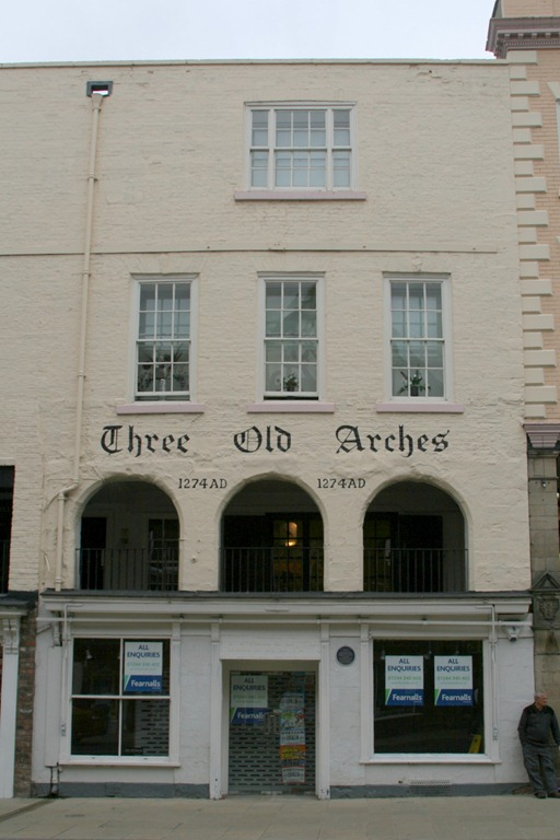 Three Old Arches dates 1274AD