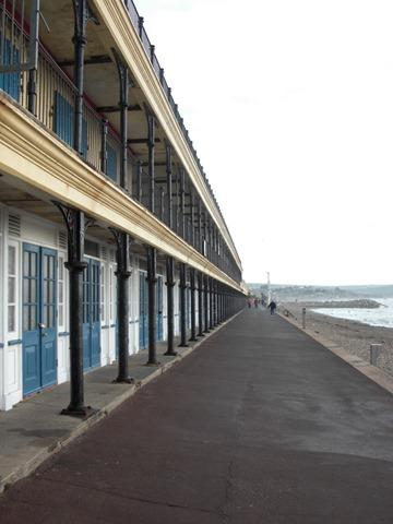 Beach huts on Weymouth Bay
