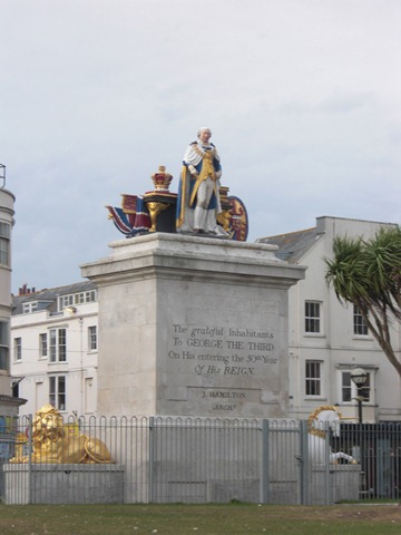 Statue of George III, 50th anniversary 1809/10