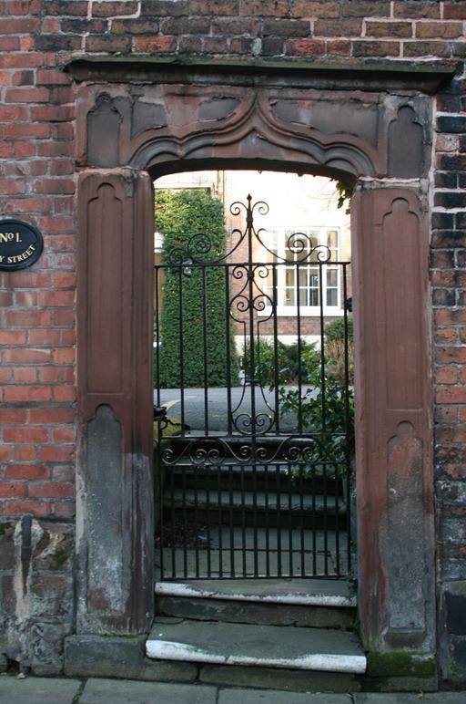 A gate on Abbey Street