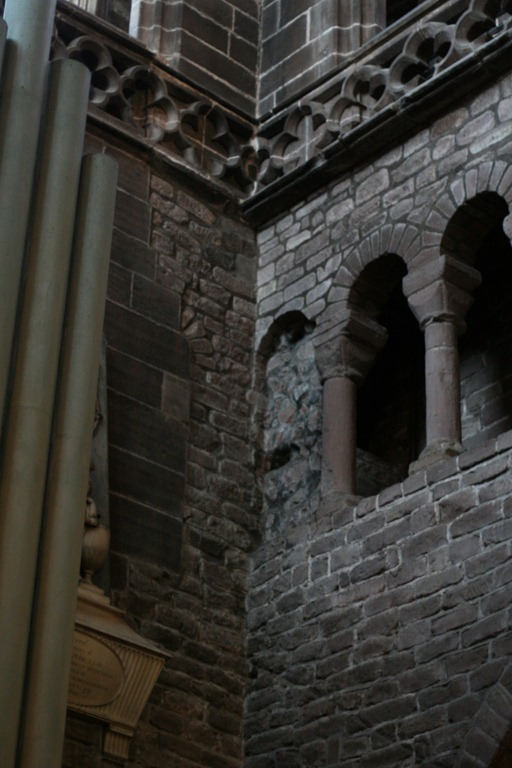 Detail in the North Transept