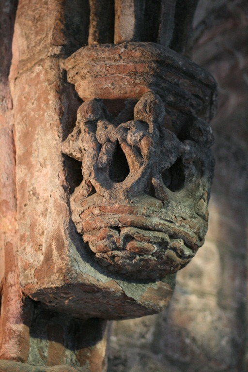 Stone detail in the Cloisters