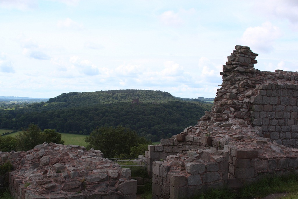 View to Peckforton Castle