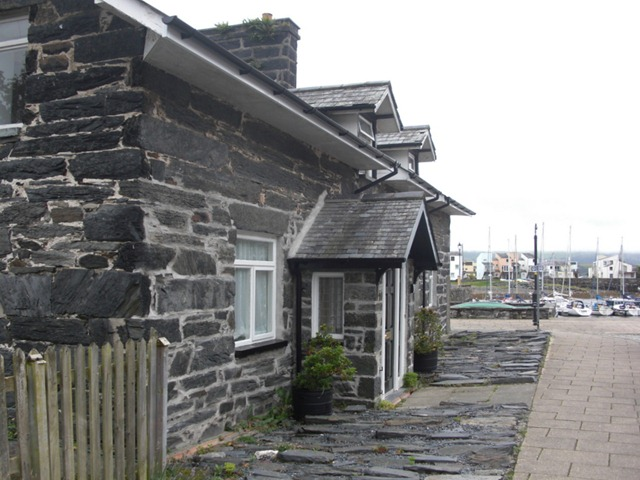 Building by Porthmadog Harbour
