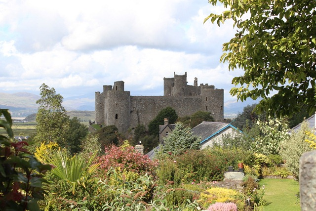 Harlech Castle (view from outside)