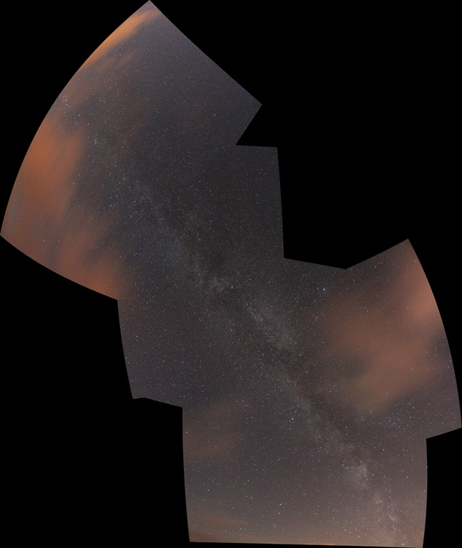 Milk Way Composite
