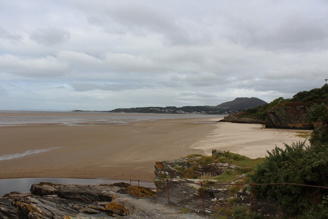 Portmeirion (view towards Porthmadog)