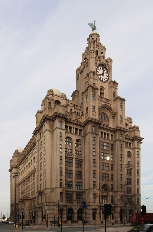 Royal Liver Building, corrected